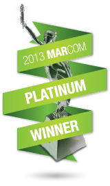 2013 Marcom Platinum Winner